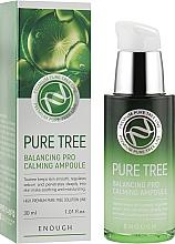 Духи, Парфюмерия, косметика Сыворотка для лица с экстрактом чайного дерева - Enough Pure Tree Balancing Pro Calming Ampoule