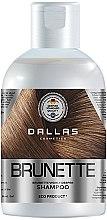 Духи, Парфюмерия, косметика Увлажняющий шампунь для защиты цвета темных волос - Dallas Cosmetics Brilliant Brunette