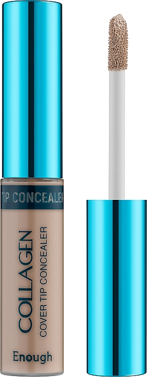 Коллагеновый консилер для лица - Enough Collagen Cover Tip Concealer