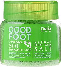 Парфумерія, косметика Сіль для ніг - Delia Cosmetics Good Foot Herbal Foot Bath Salt