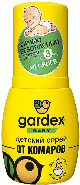 Детский спрей от комаров - Gardex Baby