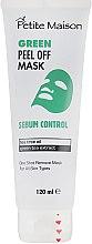 Духи, Парфюмерия, косметика Нормализующая маска-пленка для лица - Petite Maison Sebum Control Green Peel Off Mask