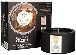 Духи, Парфюмерия, косметика Ароматическая свеча - House of Glam Lost In Great Library Candle