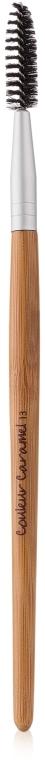 Спиральная щеточка для бровей и ресниц - Couleur Caramel