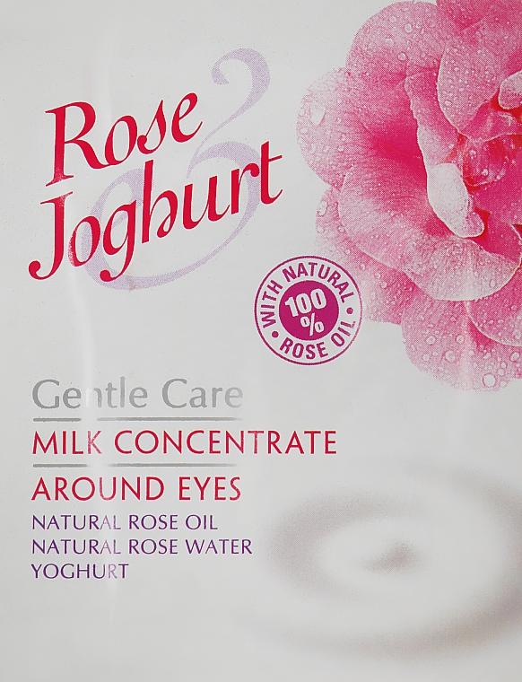 Молочный концентрат для области вокруг глаз - Bulgarian Rose Rose Joghurt (пробник)
