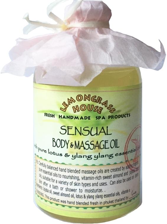 """Масло для тела """"Пробуждение чувств"""" - Lemongrass House Sensual Body & Massage Oil"""