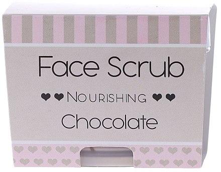Увлажняющий скраб для лица и губ - Nacomi Moisturizing Face&Lip Scrub Chocolate