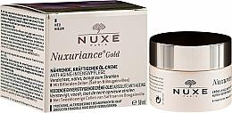 Парфумерія, косметика Живильний олійний крем з посилюючим ефектом для сухої шкіри - Nuxe Nuxuriance Gold Nutri-Fortifying Oil-Cream