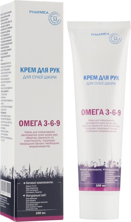 Крем для рук для сухой кожи - Pharmea Omega 3-6-9