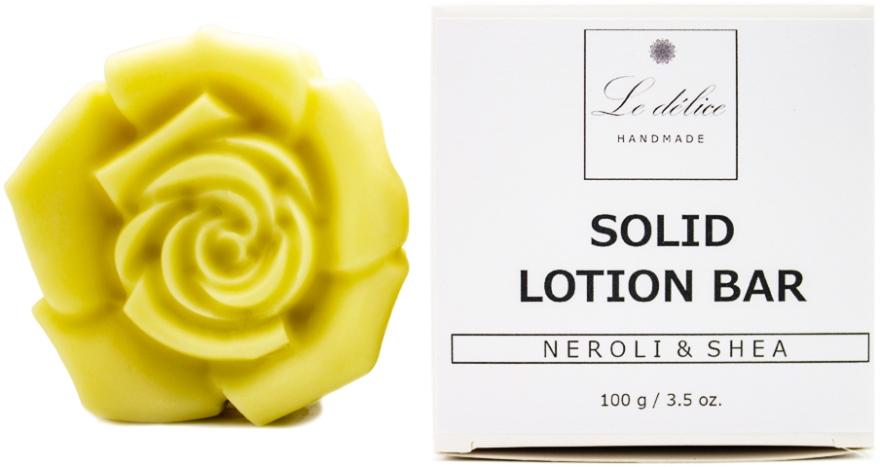 """Натуральный твердый лосьон для тела """"Нероли и Ши"""" - Le Delice Solid Lotion Bar Neroli & Shea"""