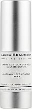 Духи, Парфюмерия, косметика Отбеливающий крем вокруг глаз - Laura Beaumont Whitening Eye Contour Crem