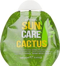 """Духи, Парфюмерия, косметика Увлажняющий гель после загара для лица и тела """"Кактус"""" - Cafe Mimi Sun Care Cactus"""