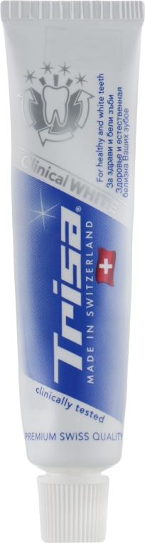 Паста зубная отбеливающая - Trisa Clinical White (мини)