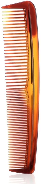 Гребень для волос 1338, янтарный - Top Choice
