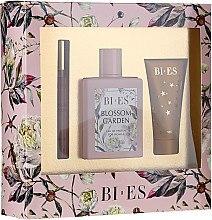 Духи, Парфюмерия, косметика Bi-es Blossom Garden - Набор (edp/100ml + sh/gel50 ml + parfum/12ml)