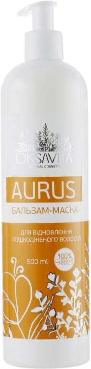 Бальзам-маска для восстановления поврежденных волос - Oksavita Aurus Mask
