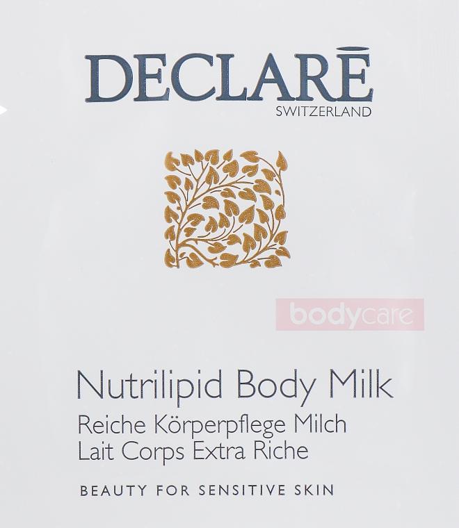 Молочко для тела - Declare Body Care Nutrilipid Body Milk (пробник)