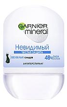 Парфумерія, косметика Дезодорант-ролик з активним мінеральним компонентом - Garnier Mineral Deodorant Чистий захист