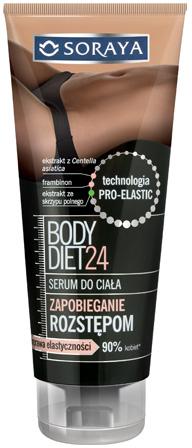 Сыворотка от растяжек - Soraya Body Diet 24 Body Serum