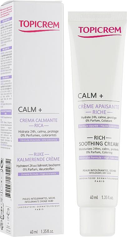 Ультраувлажняющий успокаивающий крем - Topicrem Calm Ultra Moisturizing Soothing Cream