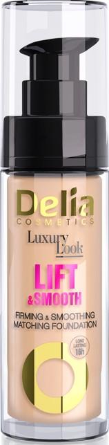 Разглаживающий тональный крем с эффектом лифтинга - Delia Cosmetics Luxury Look Lift & Smooth