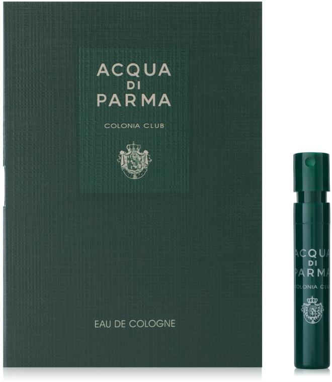 Acqua di Parma Colonia Club - Одеколон (пробник)