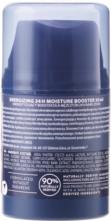 Крем для лица - Lumene Voima Men Energizing 24h Moisture Booster  — фото N2