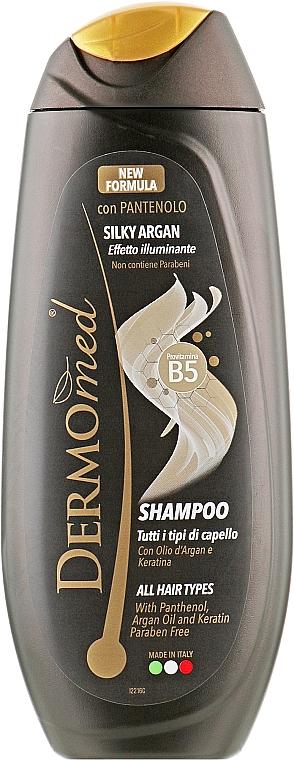 """Шампунь для волос """"Арган с Кератином"""" - Dermomed Argan With Keratin Shampoo"""