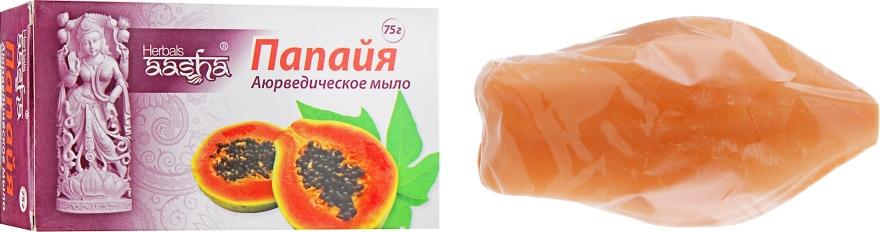 """Мыло """"Папайя"""" - Aasha Herbal Soap"""