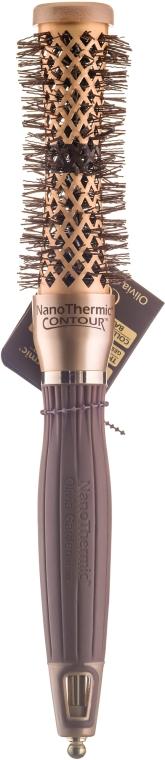Брашинг 22мм - Olivia Garden Nano Thermic Ceramic + Ion Thermic Contour Thermal d 22