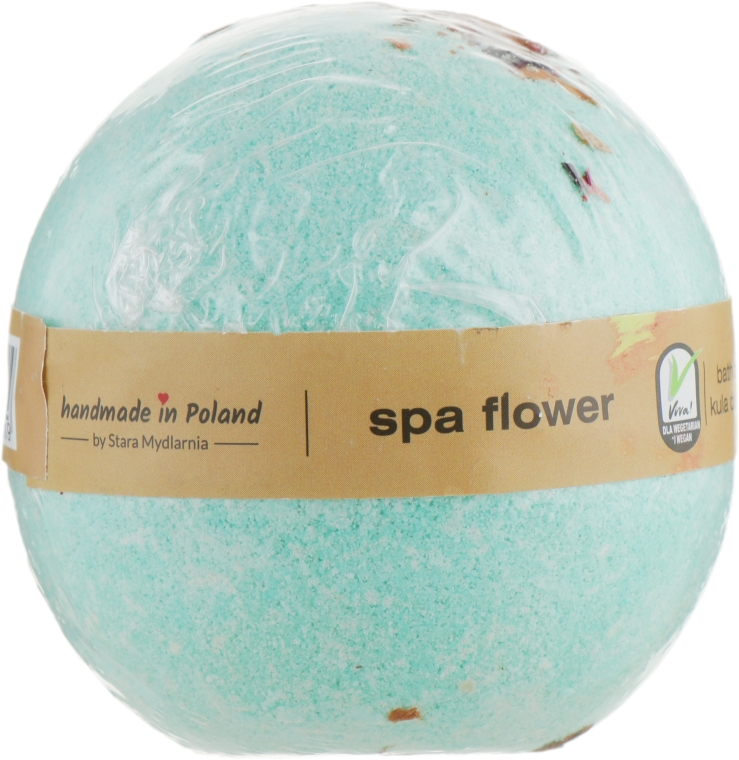 "Бомба для ванны ""SPA-цветы"" - Stara Mydlarnia Bath Bomb Spa Flower"