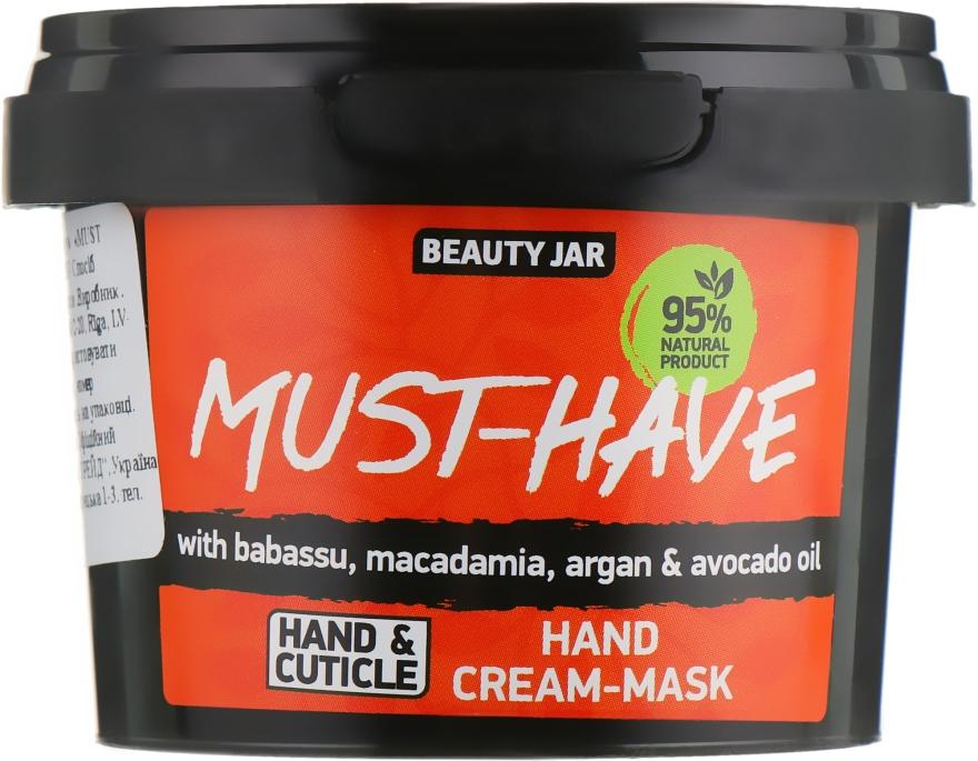 Крем-маска для рук - Beauty Jar Must-Have Hand Cream-Mask