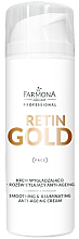 Духи, Парфюмерия, косметика Смягчающий и освелтяющий крем для лица - Farmona Retin Gold Smoothing & Illuminating Anti-Ageing Cream