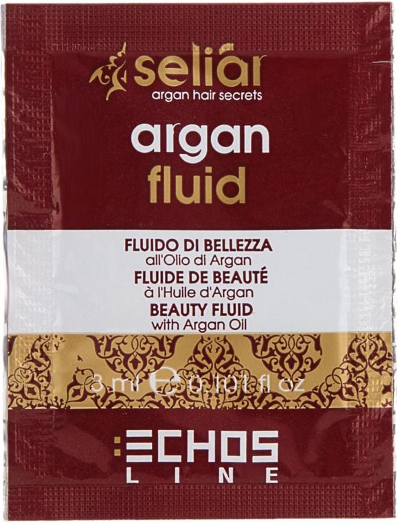 Флюид для волос с аргановым маслом - Echosline Seliar (пробник) — фото N1