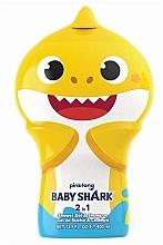 Духи, Парфюмерия, косметика Шампунь-гель для душа 2D - Air-Val International Baby Shark Shower Gel & Shampoo 2D