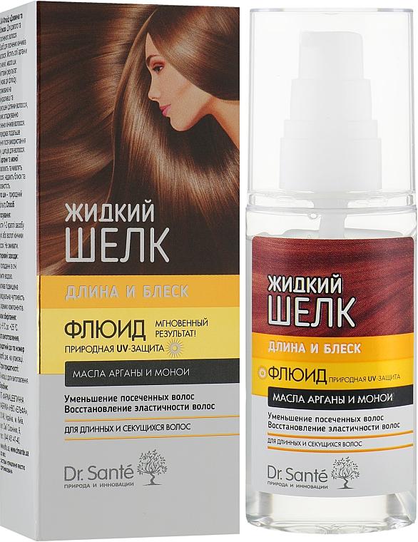 """Флюид для волос """"Длина и Блеск"""" - Dr. Sante Silk Care"""