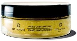 Духи, Парфюмерия, косметика Апельсиновый сахарный скраб для тела - Delarom Bath Shower Scrub
