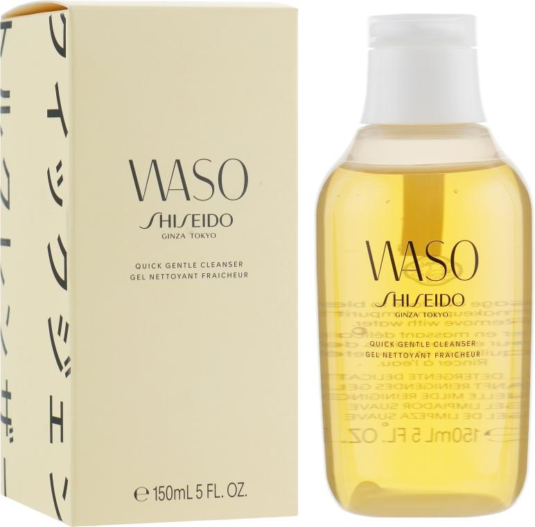 Очищающий гель для лица - Shiseido Waso Quick Gentle Cleanser