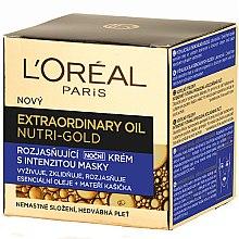 Духи, Парфюмерия, косметика Ночной крем для лица - L'Oreal Paris Nutri Gold Extraordinary Oil Night Cream