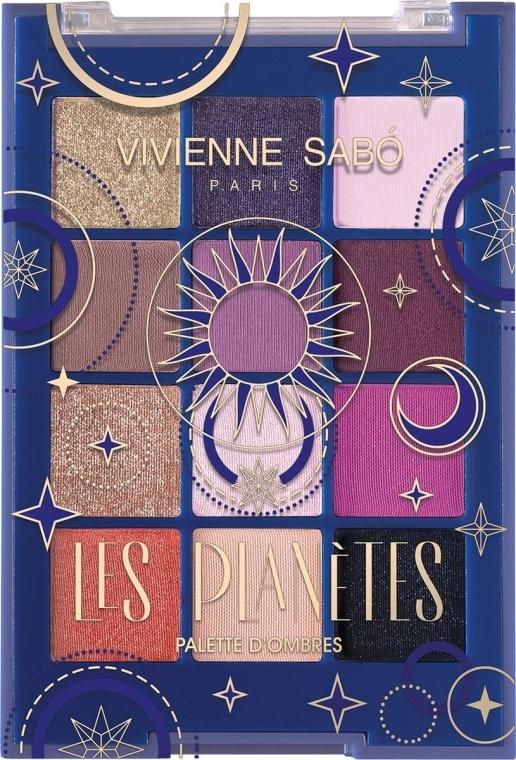 Палетка теней для век - Vivienne Sabo Les Planetes Eyeshadow Palette