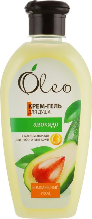 """Крем-гель для душа """"Авокадо"""" - Oleo"""