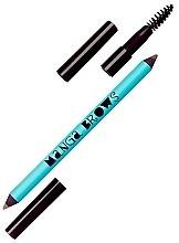 Духи, Парфюмерия, косметика Двусторонний карандаш для бровей - Neve Cosmetics Manga Brows