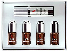 Духи, Парфюмерия, косметика Набор ампул з омолоджуючим ефектом - 3Lab Super Ampoules Brightening&Anti-Aging (serum/30ml + ampoules/4x0.7ml)