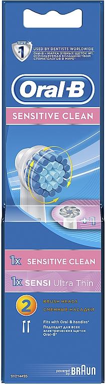 Насадки для электрических зубных щеток - Oral-B EBS 17 + EB 60