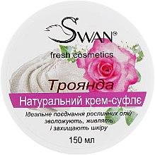 Духи, Парфюмерия, косметика Натуральный масляный крем-суфле с ароматом Розы - Swan