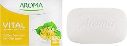 Духи, Парфюмерия, косметика Смягчающее крем-мыло с экстрактом липы - Aroma Vital Softening Beauty Cream Soap