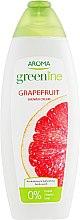 "Духи, Парфюмерия, косметика Крем-гель для душа ""Грейпфрут"" - Aroma Greenline Shower Cream ""Grapefruit"""