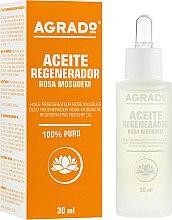 Духи, Парфюмерия, косметика Масло для тела, регенерирующее - Agrado Rosa Mosqueta
