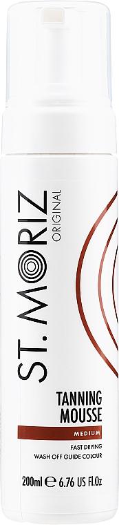 Мусс-автозагар (средний) - St.Moriz Instant Self Tanning Mousse Medium