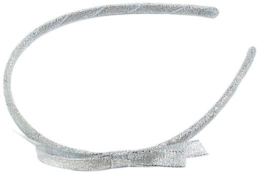 "Ободок ""Silver Star"", серебристый, d-691 - Dini"